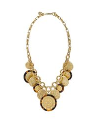 Tory Burch - Metallic Shiloh Statement Necklace - Lyst