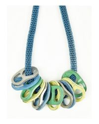 KENZO | Mens Blue Ringpull Necklace for Men | Lyst