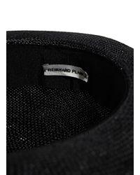 Reinhard Plank - Men's Fanelli Viscose Hat From Ss15 In Black for Men - Lyst