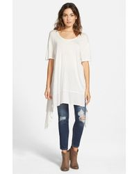 Volcom - White 'frisky Business' Tunic - Lyst