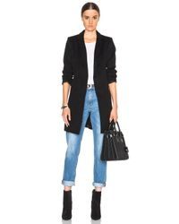 ThePerfext | Black Soho Belted Coat | Lyst