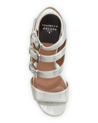 Laurence Dacade - Metallic Klio Leather Sandals - Lyst