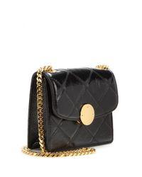 Marc Jacobs - Metallic Mini Trouble Patent-Leather Shoulder Bag - Lyst