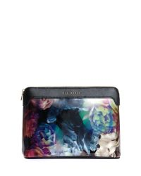Ted Baker - Black Smithis Large Technicolour Wash Bag - Lyst