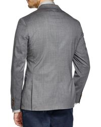 Michael Kors | Gray Trop Wool Regular Fit Blazer for Men | Lyst