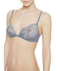La Perla | Blue Soft Sheer Bra | Lyst