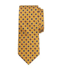 Brooks Brothers - Orange Ancient Madder Medallion Tie for Men - Lyst