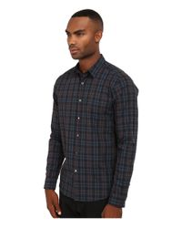 Theory - Multicolor Zack.winterton Button Up for Men - Lyst