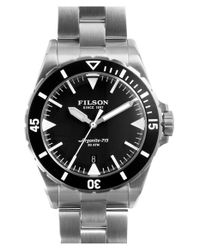 Filson - Metallic 'dutch Harbor' Bracelet Watch for Men - Lyst