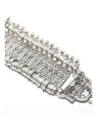 Natalie B. Jewelry | Metallic Natalie B Jewelry Basilica Bracelet | Lyst