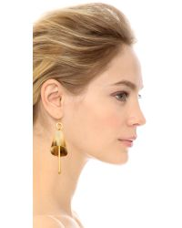 Marni | Natural Horn Earrings - Savannah | Lyst