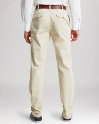 Thomas Pink - Natural Voltaire Regular Fit Chino Pants for Men - Lyst