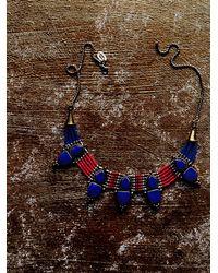 Free People | Blue Karen London Womens Free Bird Necklace | Lyst