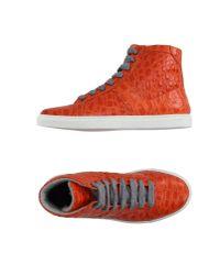 Torlasco - Orange High-tops & Trainers - Lyst