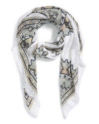 Michael Stars | White 'scattered Mandalas' Print Wrap | Lyst