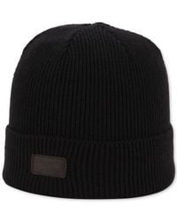 Original Penguin | Black Charlie Knit Hat for Men | Lyst