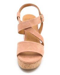 Coclico - Natural Mel Wedge Sandals - Lyst