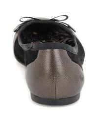 Born | Metallic Mardea Ballerina Flats | Lyst
