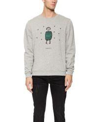 Carven - Gray Little Man Pullover for Men - Lyst