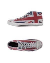 Converse - Red High-tops & Trainers for Men - Lyst