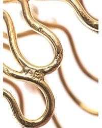 Aurelie Bidermann - Metallic Cheyne Walk Freshwater Pearl Cuff - Lyst