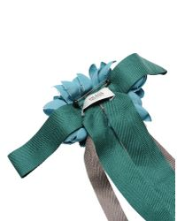 Prada - Green Brooch - Lyst