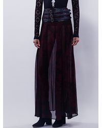 Free People - Purple Nicholas K Womens Dakota Skirt - Lyst