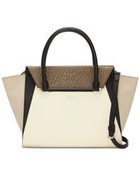 Vince Camuto | Brown Addy Satchel | Lyst