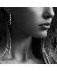 David Yurman | Metallic Confetti Hoop Earring With Diamonds In Gold | Lyst