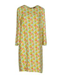 Laura Urbinati - Green Knee-length Dress - Lyst