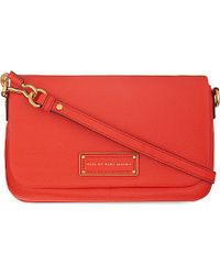 Marc By Marc Jacobs - Orange Percy Leather Cross-Body Bag - For Women - Lyst