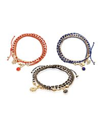 Astley Clarke | Red Biography Collection Bracelet Stacks | Lyst