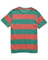 Faherty Brand - Green Ss Pocket T Shirt for Men - Lyst