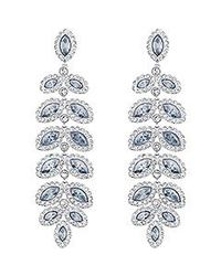 Swarovski | Blue Baron Pierced Earrings | Lyst