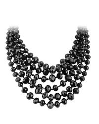 Dyrberg/Kern | Metallic Cady Beads Necklace | Lyst