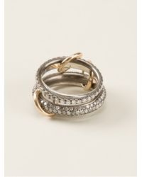 Spinelli Kilcollin - Metallic Four Linked Rings - Lyst
