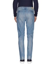 0/zero Construction - Blue Denim Trousers for Men - Lyst