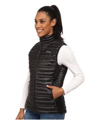 Patagonia - Black Ultralight Down Vest - Lyst