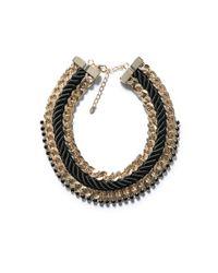 Zara | Black Combination Chain Necklace | Lyst