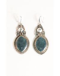 Natalie B. Jewelry | Green Gigi Vintage Tribal Earring | Lyst