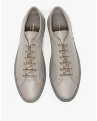 Common Projects - Gray Original Achilles Low Mid Grey for Men - Lyst