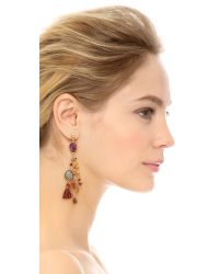 Gas Bijoux - Serti Pondicherie Earrings - Purple Multi - Lyst