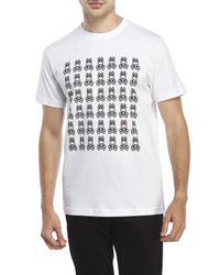 Psycho Bunny | White Multi Bunny Tee for Men | Lyst