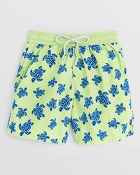 Vilebrequin | Green Moorea Turtleneck Swim Trunks for Men | Lyst