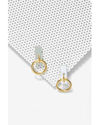 I Still Love You Nyc - Metallic Slave To Fashion Earrings - Lyst