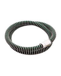 Carolina Bucci | Metallic Nspcc Double Twister Bracelet Silver | Lyst