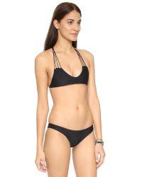 Mikoh Swimwear - Black Seychelles One Piece Swimsuit - Lyst