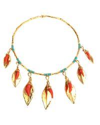 Aurelie Bidermann - Red 'Monteroso' Necklace - Lyst