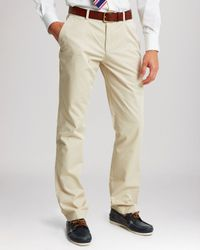 Thomas Pink | Natural Voltaire Regular Fit Chino Pants for Men | Lyst