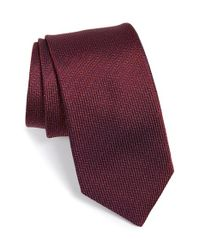 Michael Kors | Red 'wicket Solid' Silk Tie for Men | Lyst
